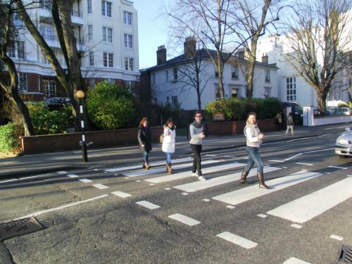 beatles´s zebra crossing