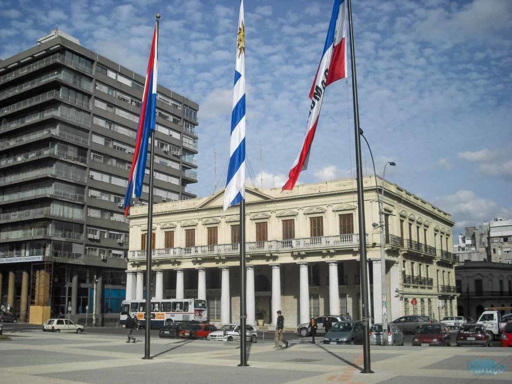 Palácio Estévez em Montevidéu