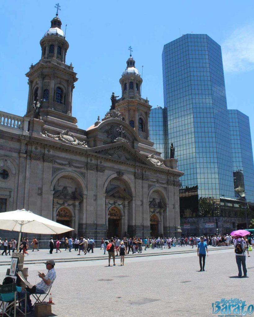Plaza das Armas Santiago