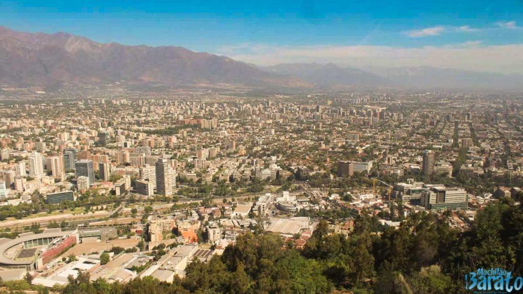 Vista Cerro San Cristóval