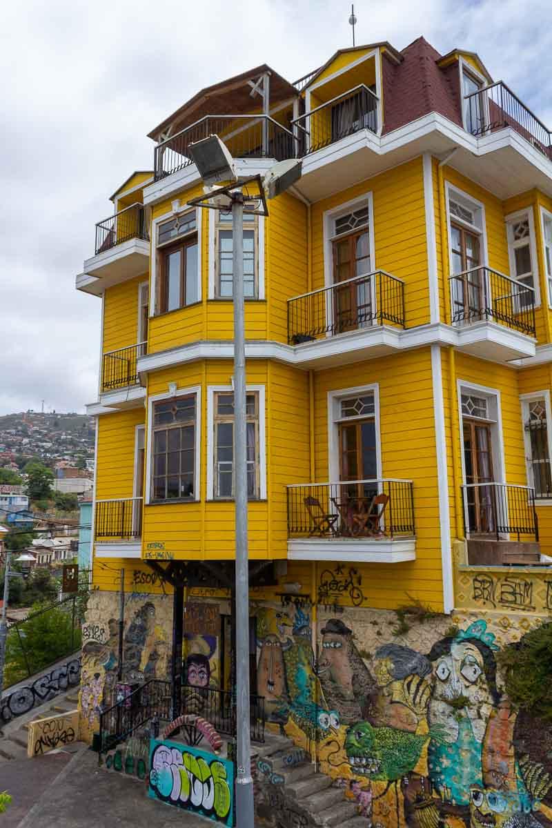 Casas em Valparaíso