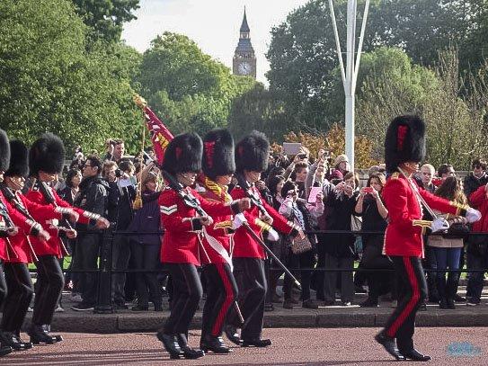 Troca de Guarda em Londres, Eurotrip
