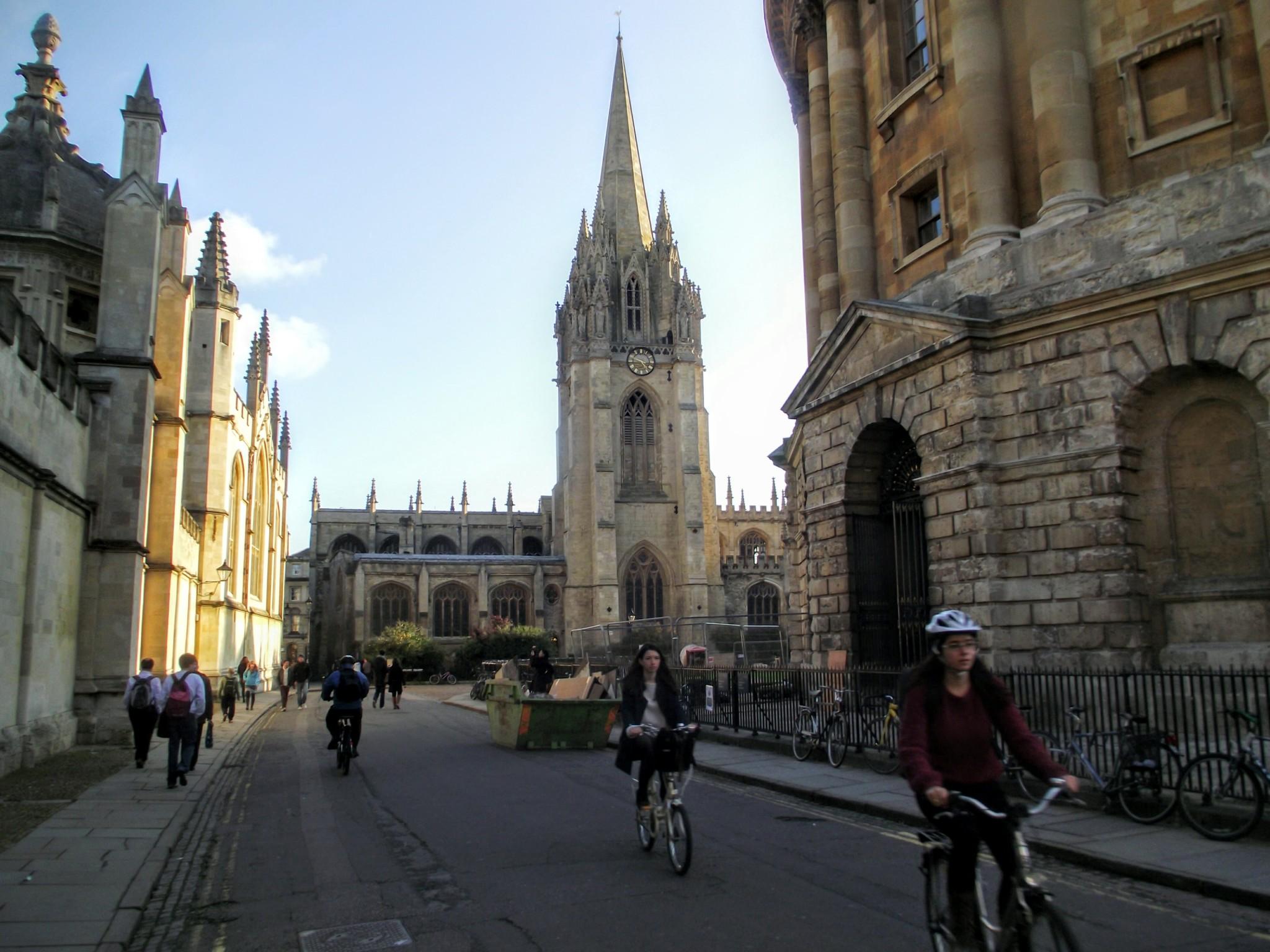 Ruas de Oxford