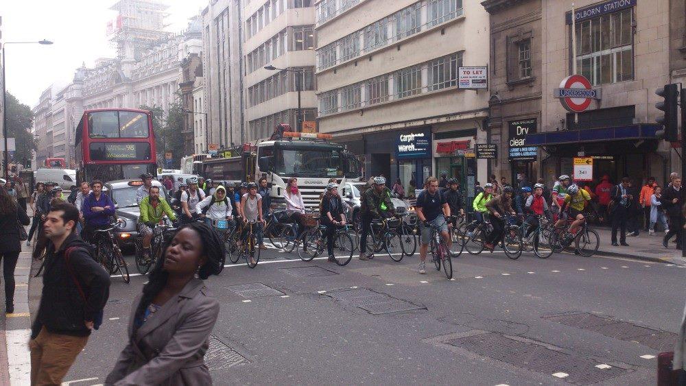 bicicletas centro Londres