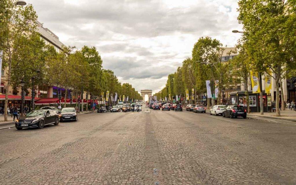 Champs-Élysées em Paris