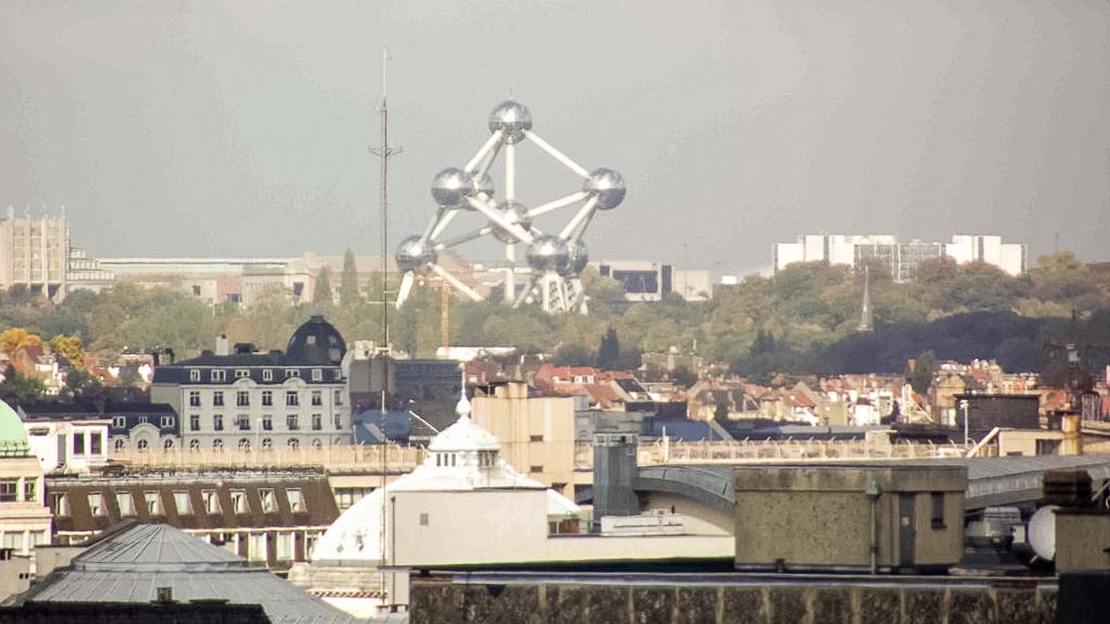 Atomium em Bruxelas