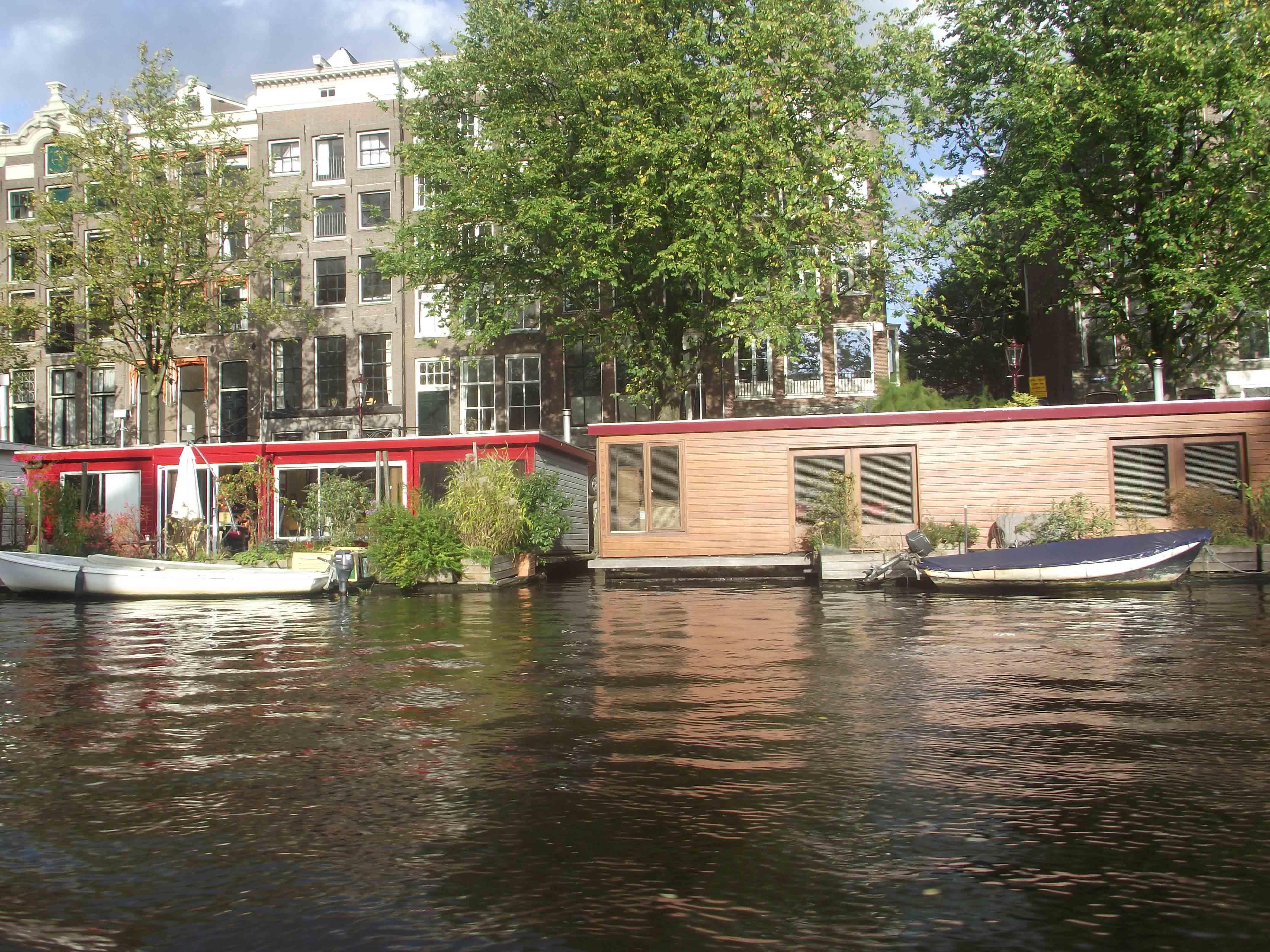 Casa aquactica em Amsterdam