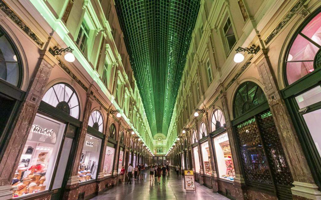 Les Galeries Royales Saint-Hubert em Bruxelas