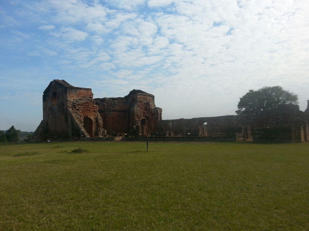 Ruínas Jesuítas Encaranación Paraguai
