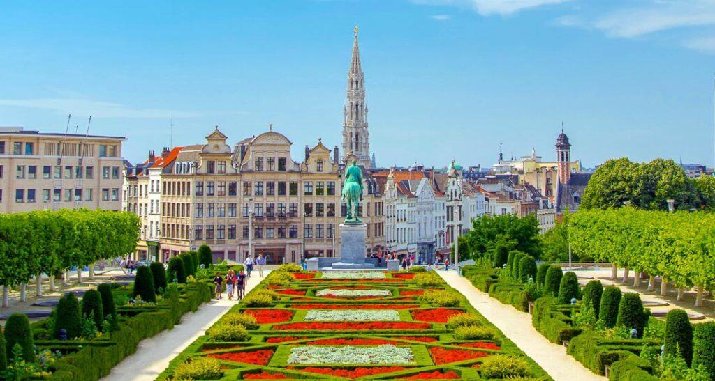 Mont des Arts em Bruxelas