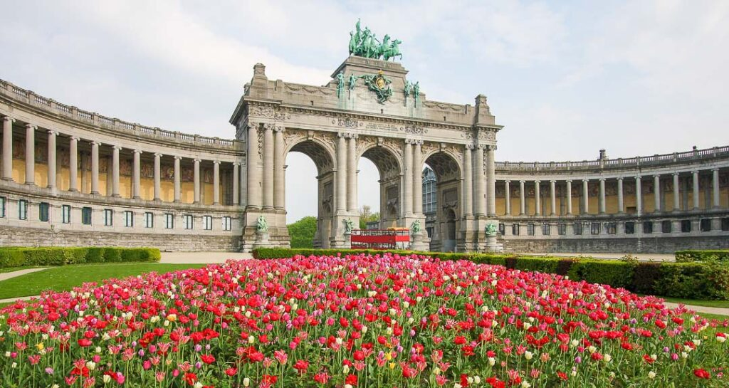 Parc du Cinquantenaire em Bruxelas