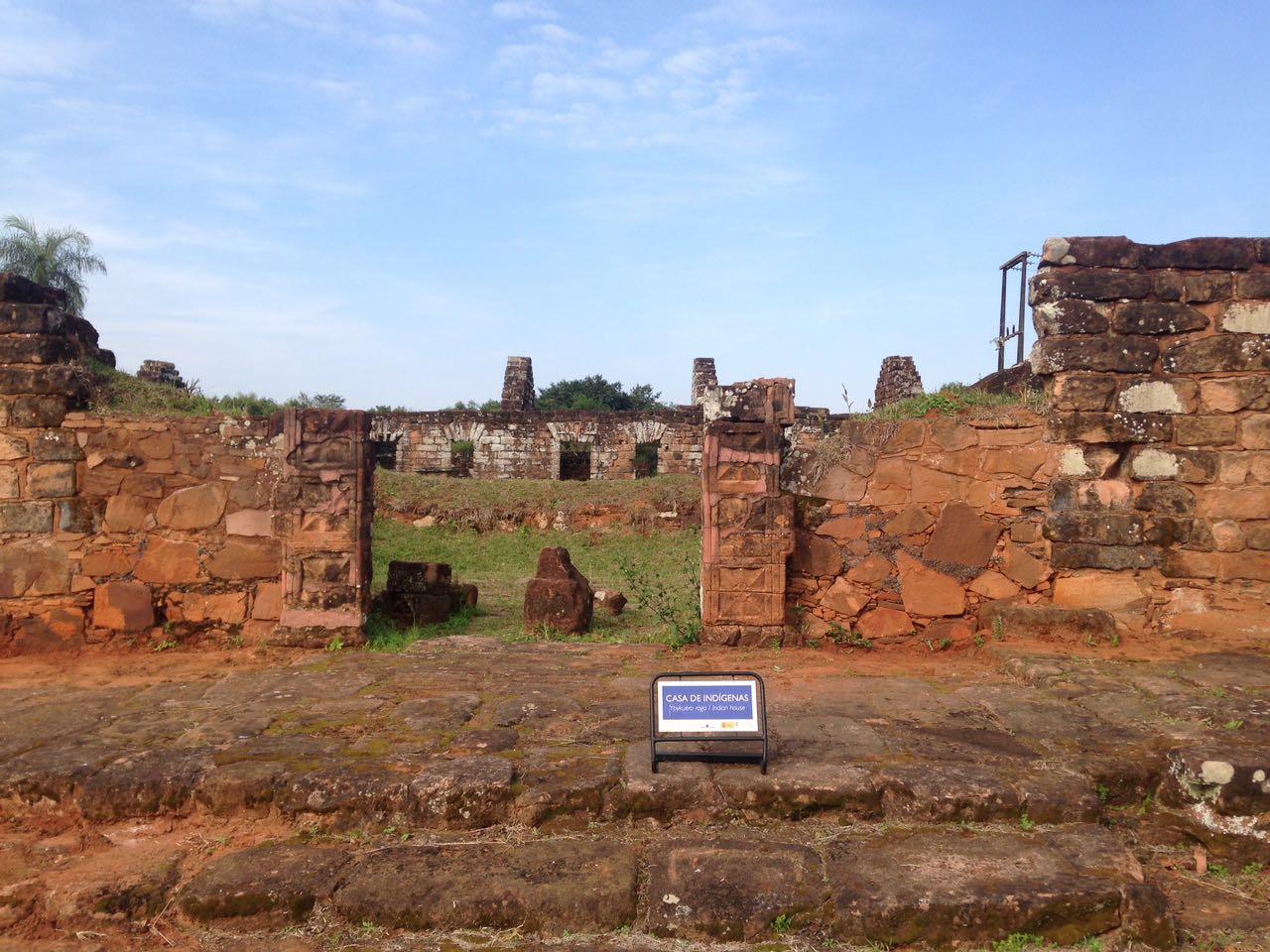 ruínas Santísima Trinidad del Paraná