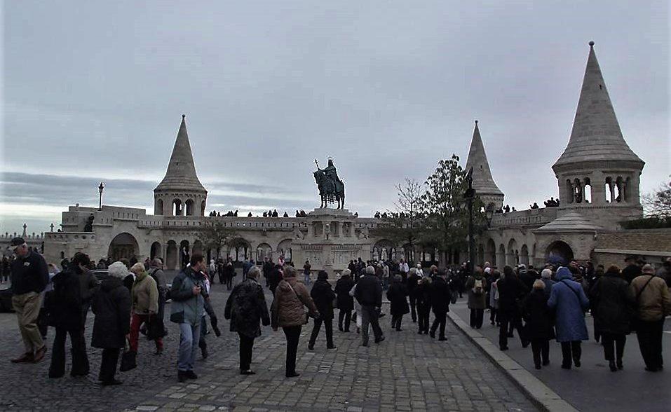 Castelo de Budapeste.