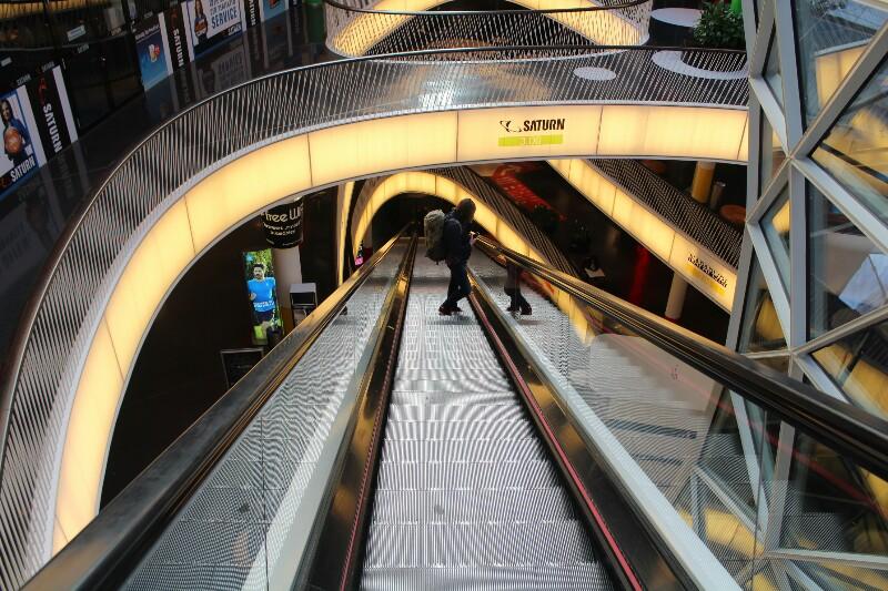 Centro comercial Zeil em Frankfurt