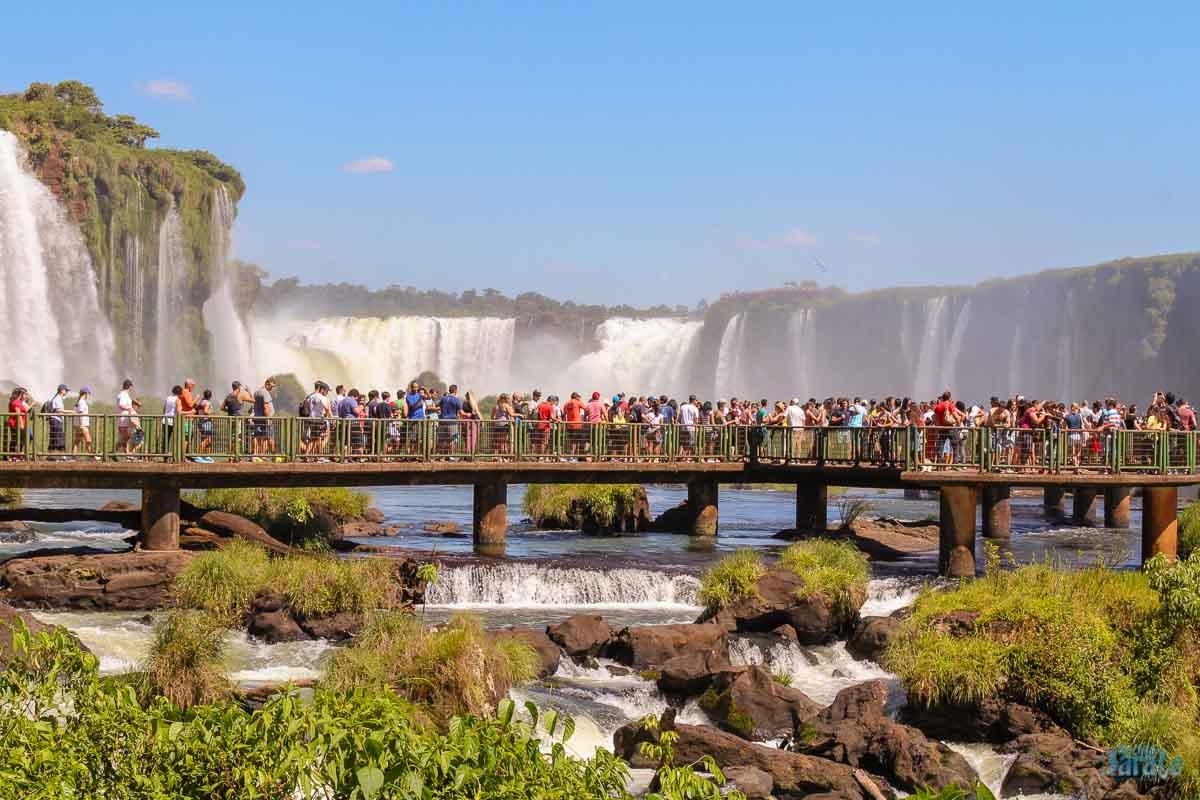 Passarelas Cataratas do Iguaçu