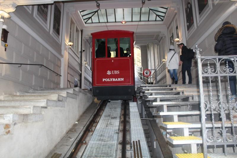 Funicular em Zurique