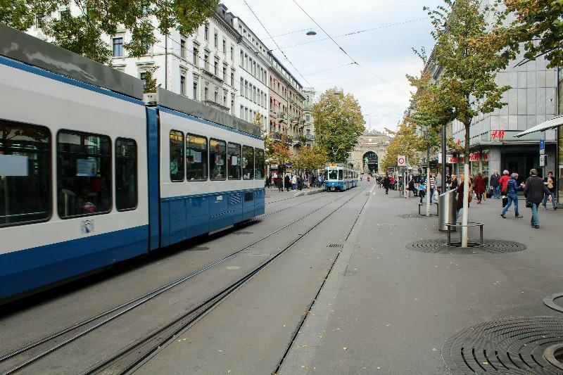 transporte público em Zurique