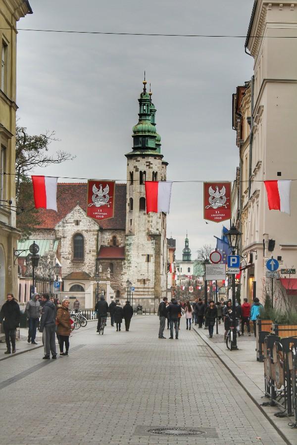 Centro Cracóvia Polônia
