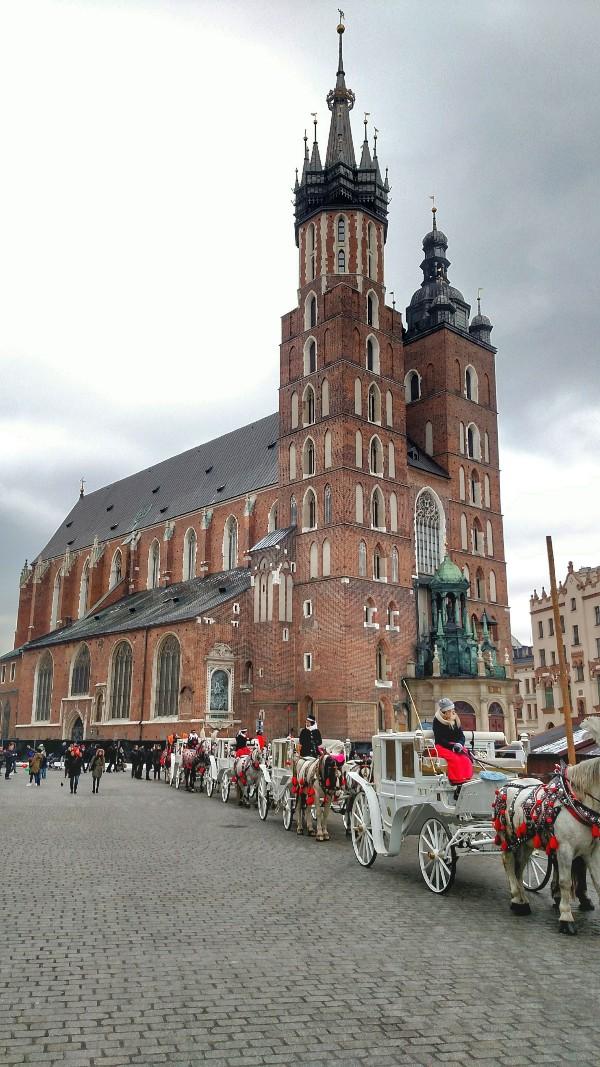 Basílica de Santa Maria Cracóvia