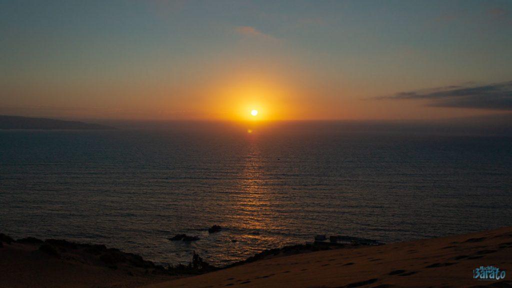 Pôr do Sol nas Dunas de Concon