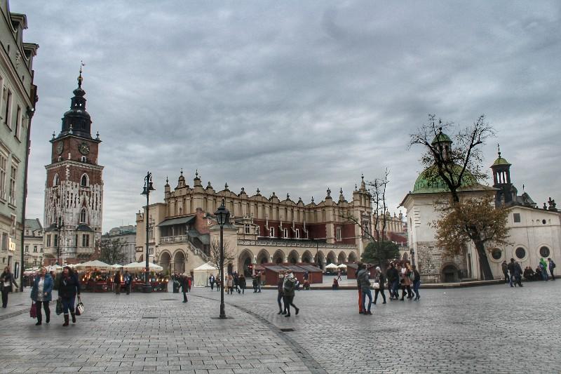 Praça do Mercado Cracóvia