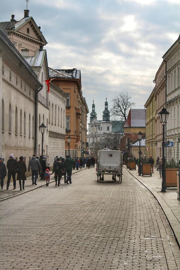 Centro histórico de Cracóvia