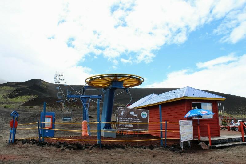 Teleférico Vulcão Osorno