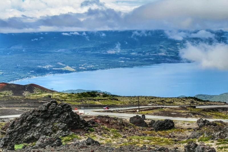 Vista Vulcão Osorno