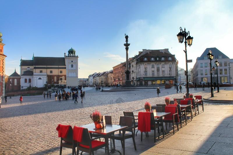 praça do mercado em varsóvia