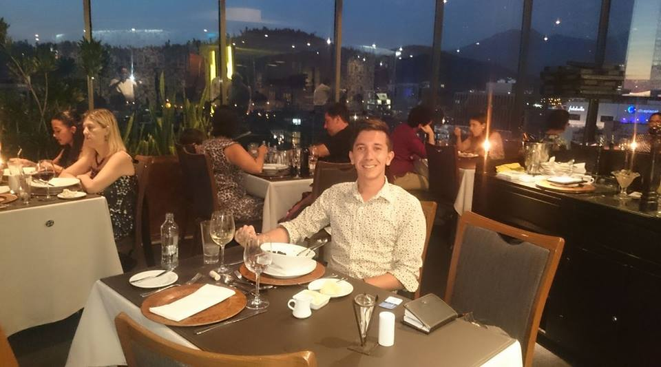 restaurante giratorio santiago