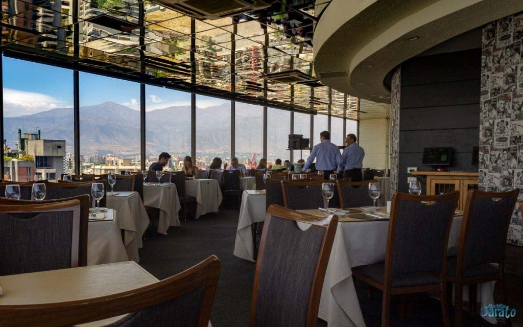 Restaurante Giratorio, Santiago