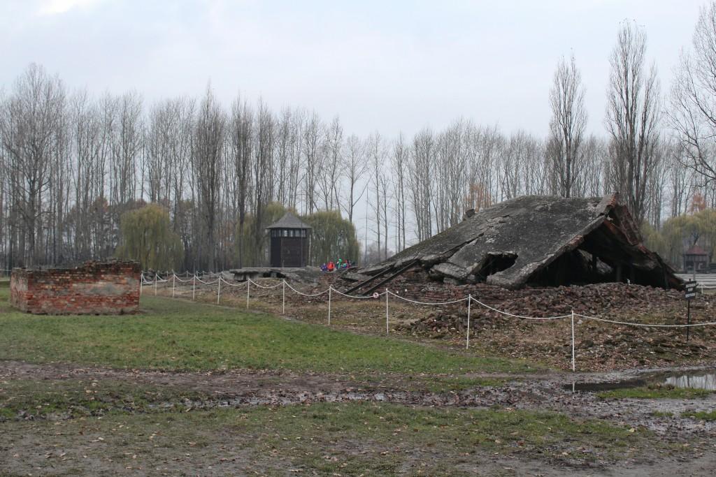Câmara de gás campo de concentração