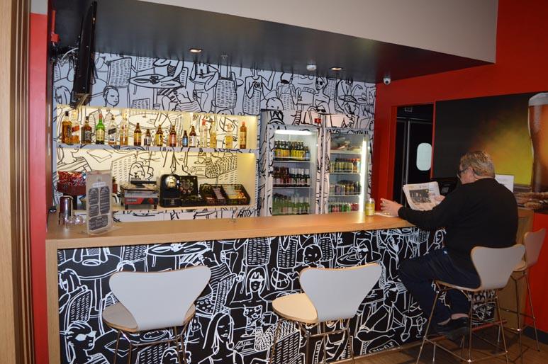 Bar e restaurante Ibis Porto Alegre