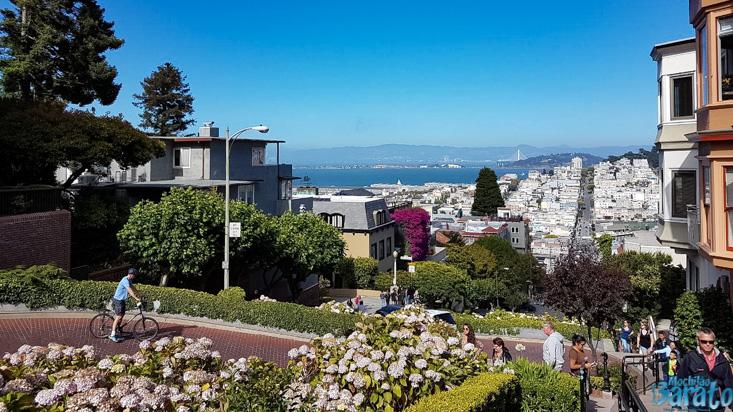 rua Lombard em San Francisco