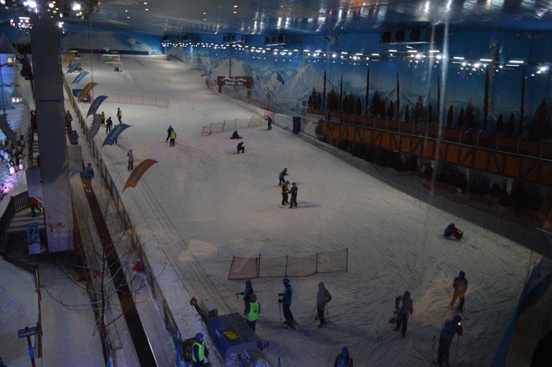 Aula de Esqui Snowland