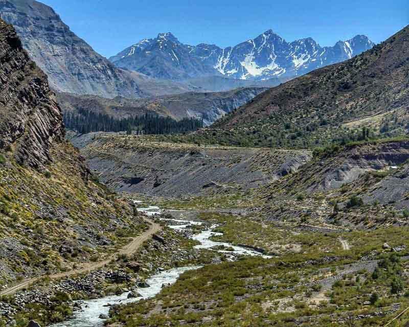 Cajon del Maipo no Chile