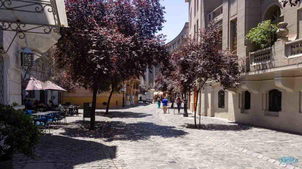 bairro Lastarria em Santiago