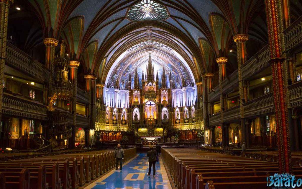 Catedral de Notre-Dame em Montreal