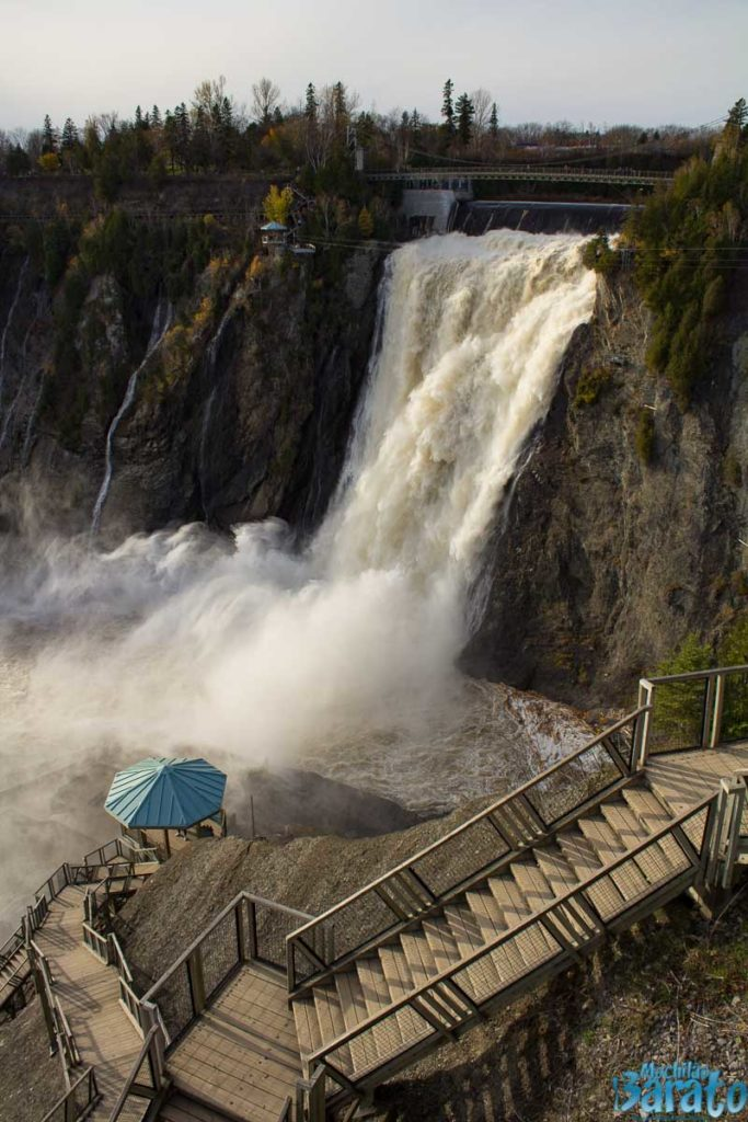 Montmorency Falls Quebec, Canadá