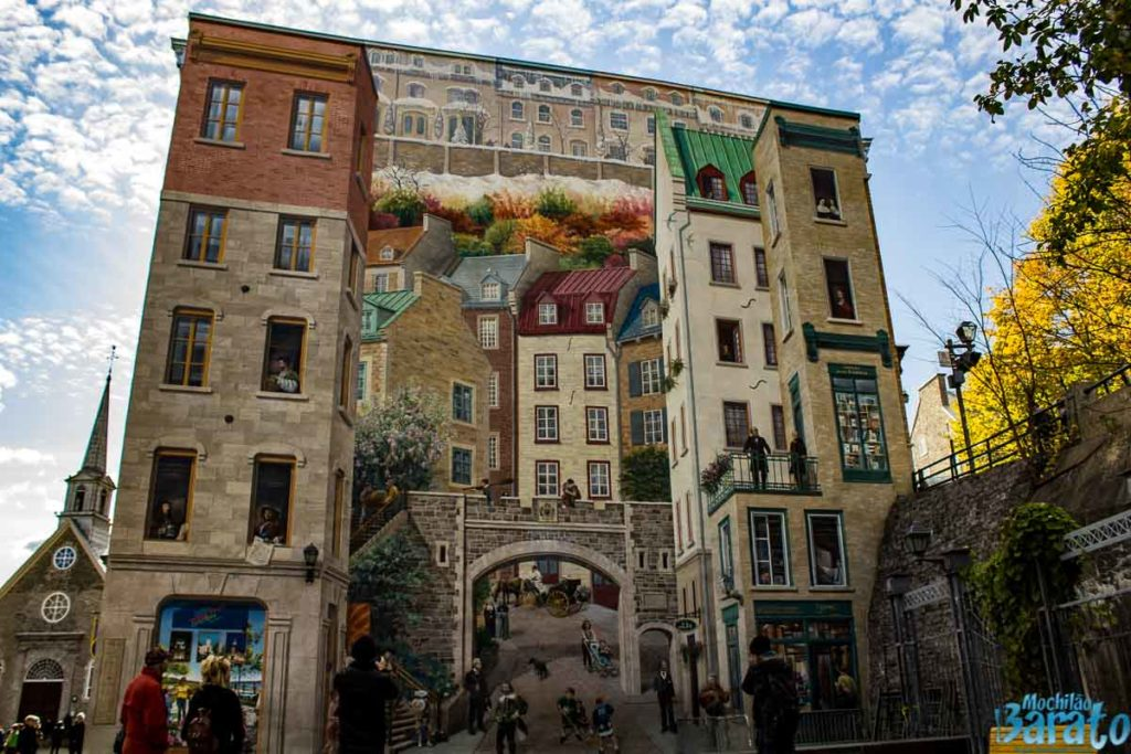 Painel old Quebec.