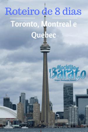 Roteiro de viagem para o Canadá
