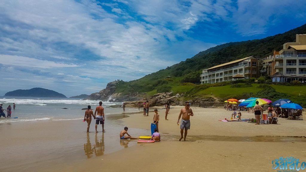 Praias norte de Florianópolis.