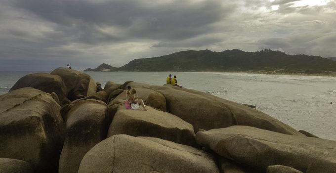 Praias leste Florianópolis