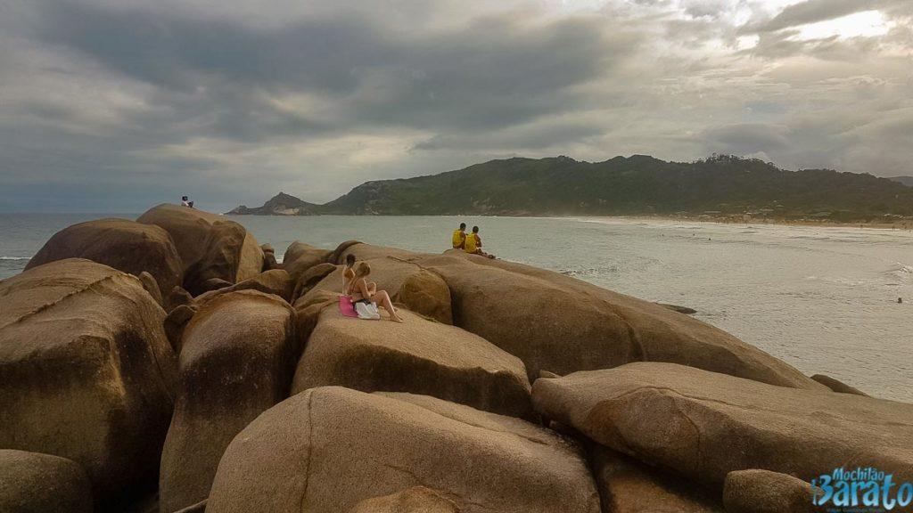 Praias do leste de Florianópolis