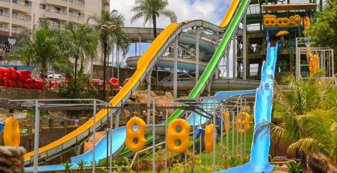 Parque Aquático de Olímpia.