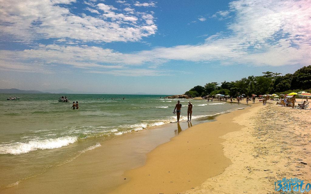 Praias do norte de Florianópolis