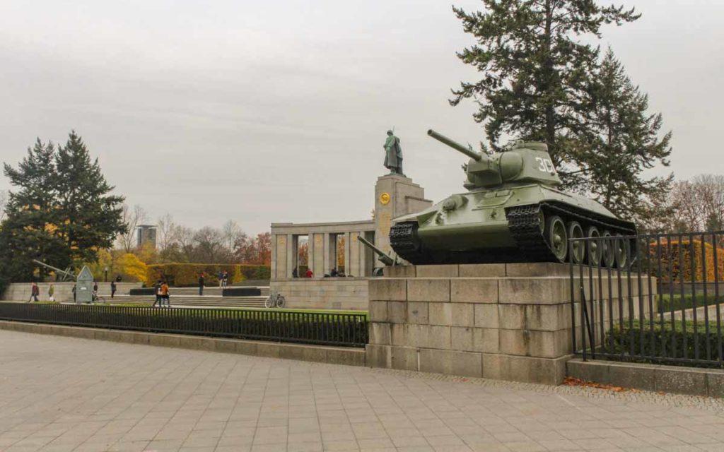 Memorial de Guerra Soviético, Berlim