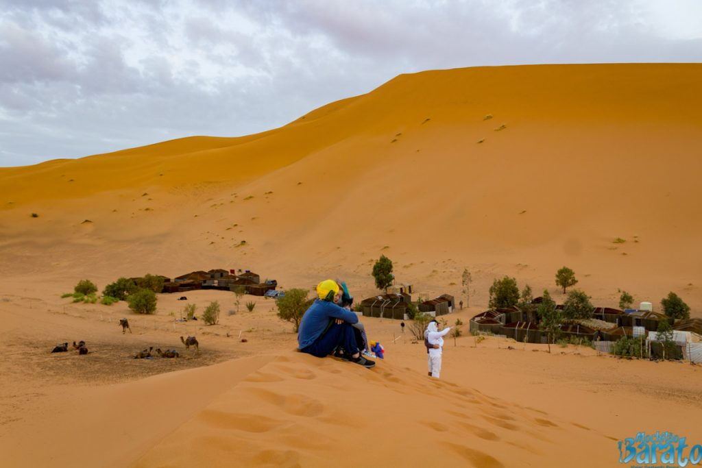 Deserto do Saara no Marrocos