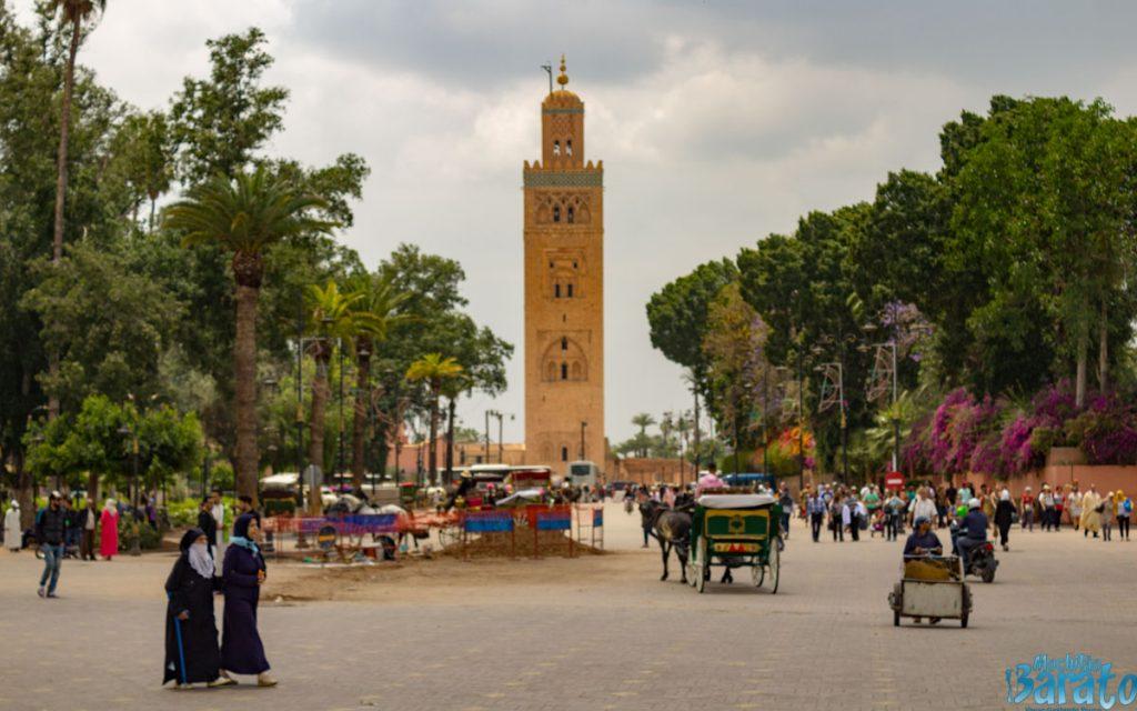 Jemaa el-Fna no Marrocos