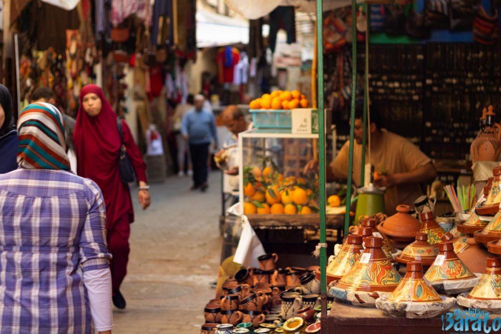Medina de Fes no Marrocos